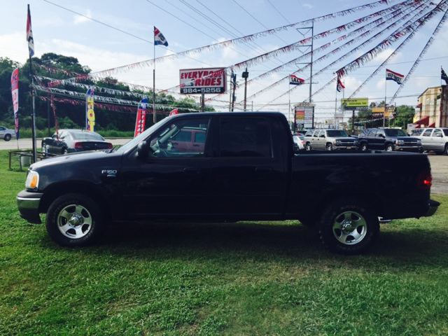 2003 FORD F-150 XLT 4DR SUPERCREW RWD STYLESIDE black abs - 4-wheel adjustable pedals - power a