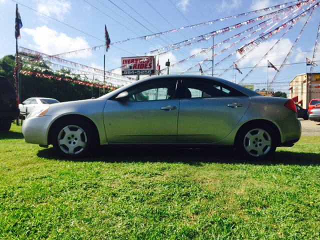 2008 PONTIAC G6 VALUE LEADER 4DR SEDAN silver 2-stage unlocking - remote abs - 4-wheel airbag d