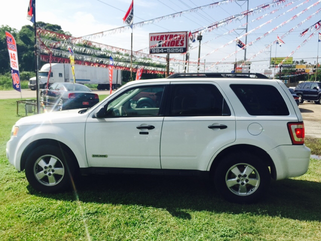 2008 FORD ESCAPE XLT 4DR SUV white 2-stage unlocking - remote abs - 4-wheel airbag deactivation