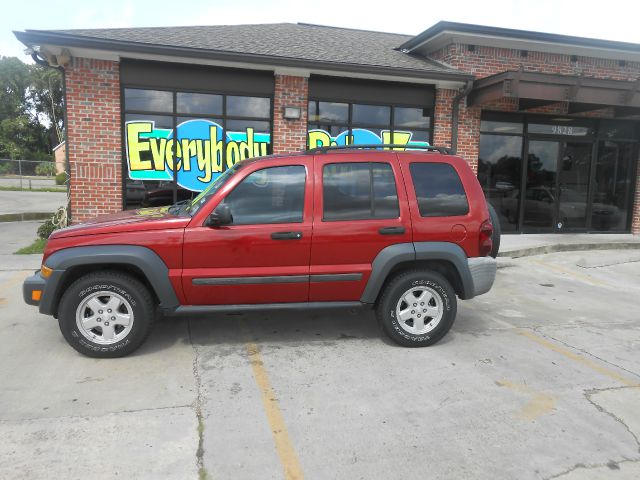 2006 JEEP LIBERTY SPORT 4DR SUV red abs - 4-wheel airbag deactivation - occupant sensing passeng
