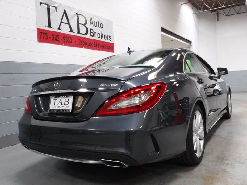 2016 Mercedes-Benz CLS AWD CLS 550 4MATIC 4dr Sedan - Chicago IL