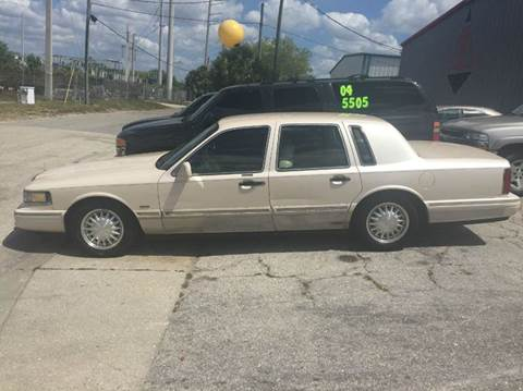 1995 Lincoln Town Car for sale in Sarasota, FL