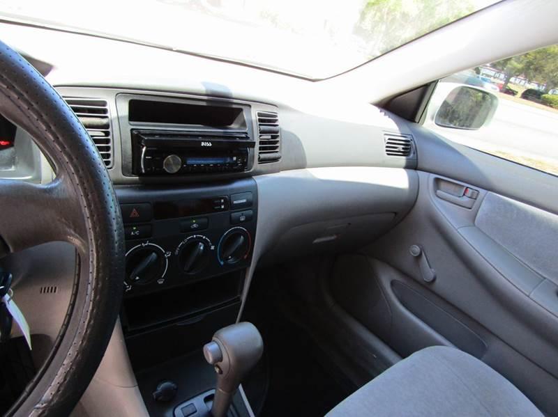 2003 Toyota Corolla CE 4dr Sedan - Hernando FL