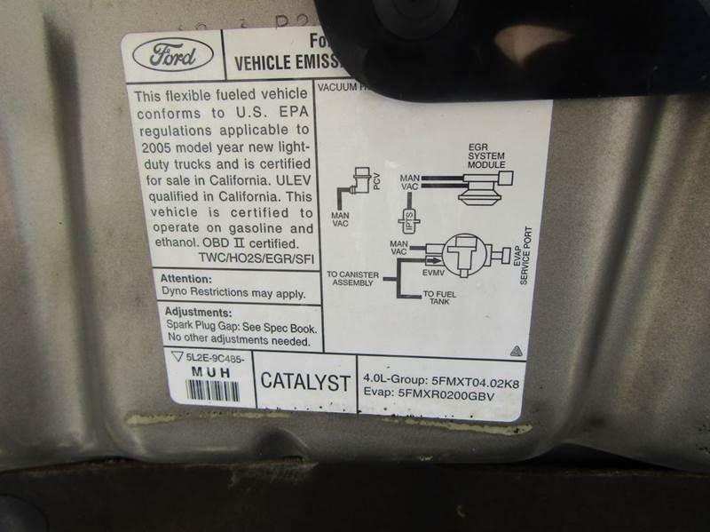 2005 Ford Explorer XLT 4dr 4WD SUV - Hernando FL