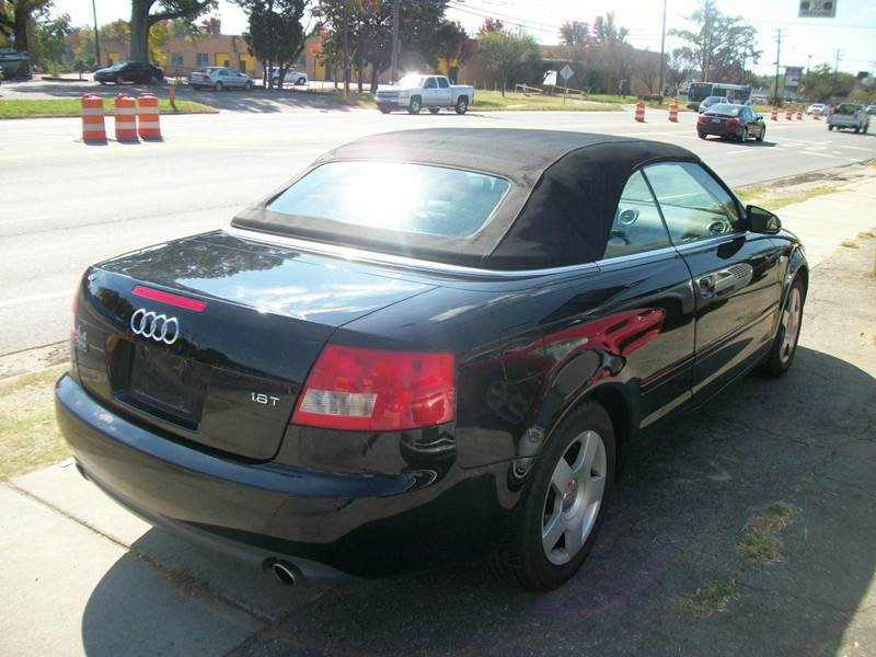 2005 Audi A4 2dr 1.8T Turbo Cabriolet - Charlotte NC