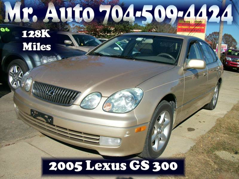 2005 Lexus GS 300 4dr Sedan - Charlotte NC