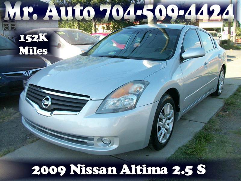 2009 Nissan Altima 2.5 S 4dr Sedan 6M - Charlotte NC