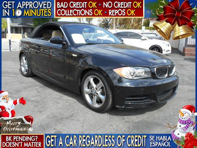 2008 BMW 1 SERIES 135I 2DR CONVERTIBLE black  welcome take a test drive or call us if you have