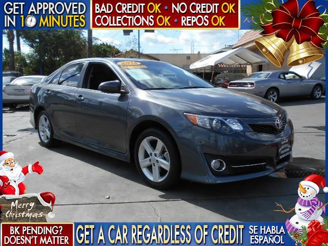 2014 TOYOTA CAMRY gray  welcome take a test drive or call us if you have any questions you w