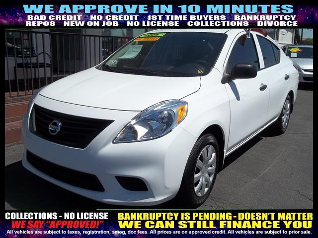 2014 NISSAN VERSA 16 S 4DR SEDAN 4A white welcome take a test drive or call us if you have any