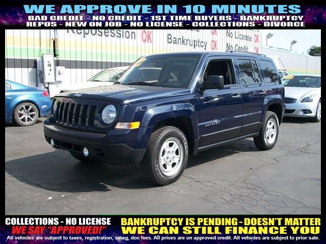 2013 JEEP PATRIOT SPORT 4X4 4DR SUV blue  welcome take a test drive or call us if you have any