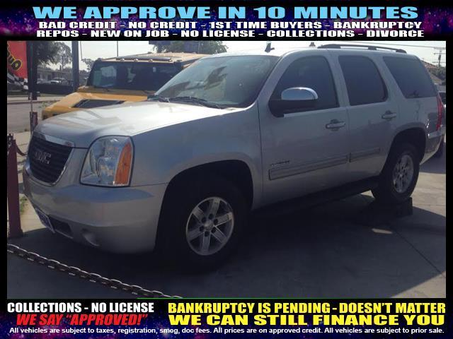 2010 GMC YUKON SLE XFE 4X2 4DR SUV pewter  welcome take a test drive or call us if you have an
