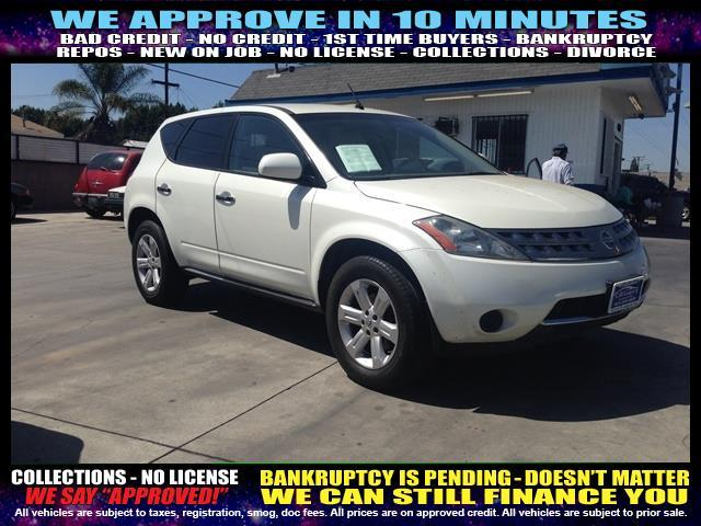2007 NISSAN MURANO white  welcome take a test drive or call us if you have any questions you