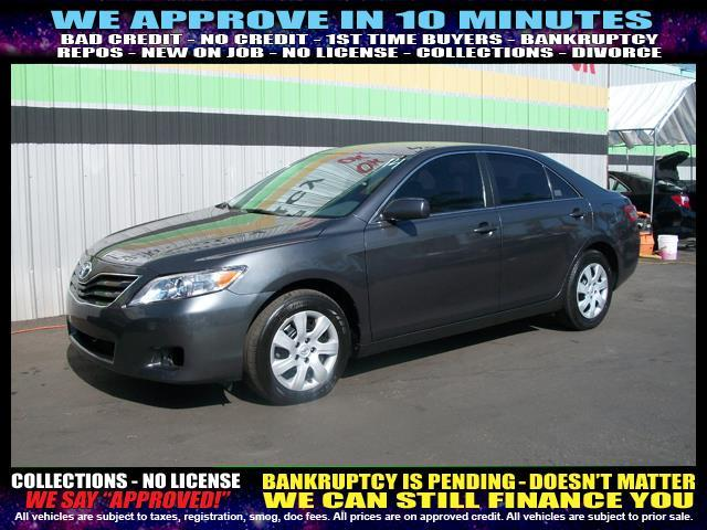 2011 TOYOTA CAMRY charcoal welcome take a test drive or call us if you have any questions you