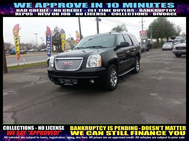 2009 GMC YUKON DENALI AWD 4DR SUV black welcome take a test drive or call us if you have any qu