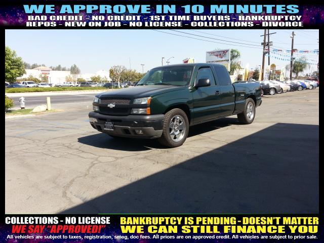 2005 CHEVROLET SILVERADO 1500 LS 4DR EXTENDED CAB RWD SB black welcome take a test drive or c