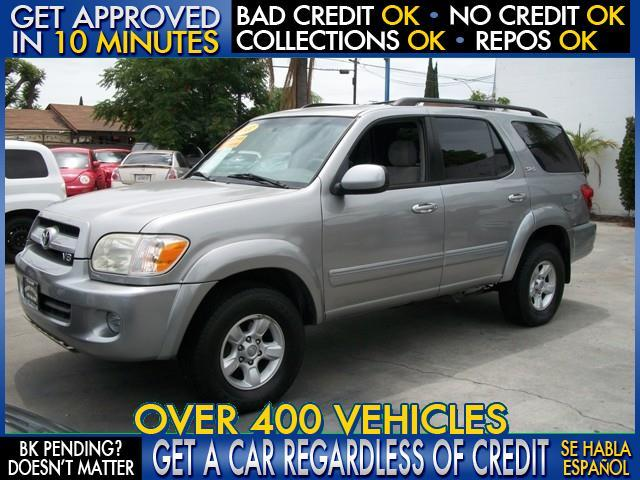 2007 TOYOTA SEQUOIA SR5 4DR SUV gray  welcome take a test drive or call us if you have any que