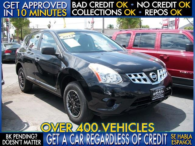 2013 NISSAN ROGUE black  welcome take a test drive or call us if you have any questions you
