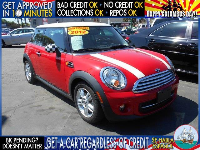 2012 MINI COOPER HARDTOP BASE 2DR HATCHBACK red  welcome take a test drive or call us if you h