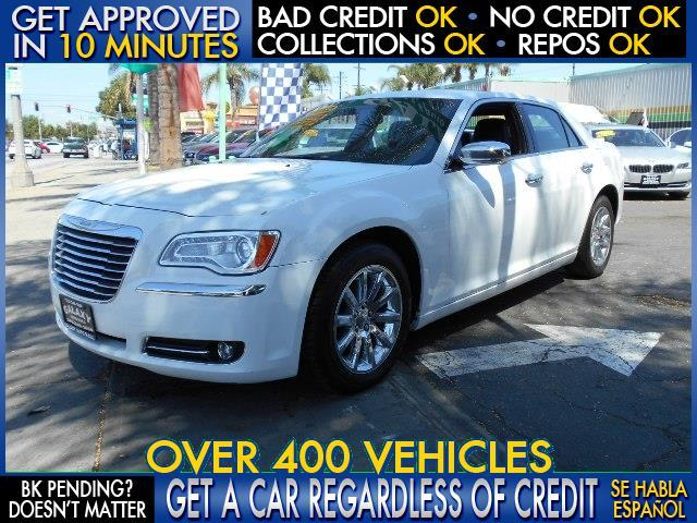 2012 CHRYSLER 300 LIMITED 4DR SEDAN white  welcome take a test drive or call us if you have an