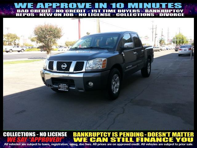 2007 NISSAN TITAN gray welcome take a test drive or call us if you have any questions you won