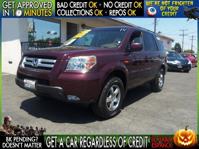 2008 HONDA PILOT EX-L 4DR SUV burgundy  welcome take a test drive or call us if you have any q