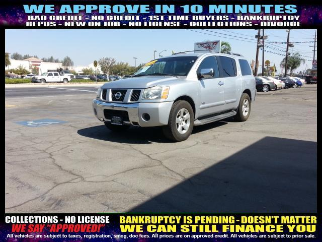 2007 NISSAN ARMADA silevr welcome take a test drive or call us if you have any questions you