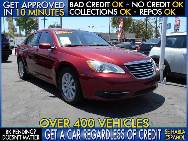 2013 CHRYSLER 200 TOURING 4DR SEDAN maroon  welcome take a test drive or call us if you have a