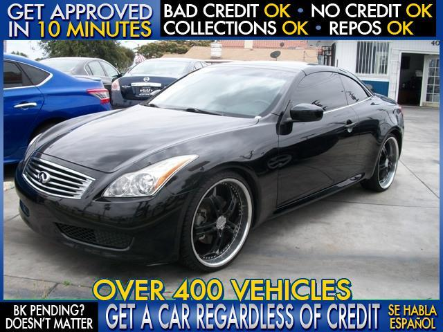 2009 INFINITI G37 CONVERTIBLE SPORT 2DR CONVERTIBLE black  welcome take a test drive or call u