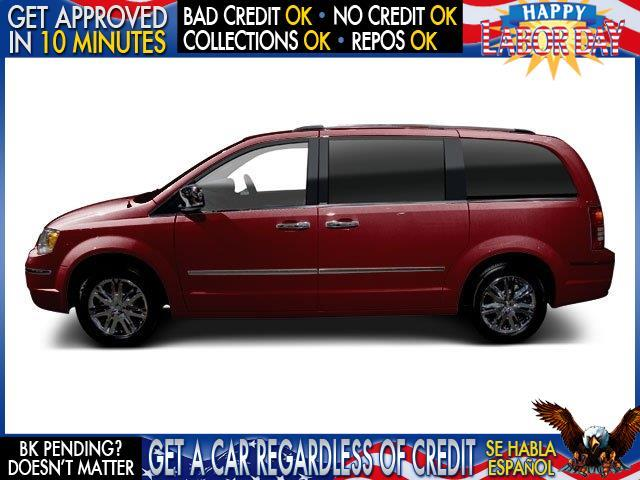 2010 CHRYSLER TOWN AND COUNTRY TOURING 4DR MINI VAN red welcome take a test drive or call us