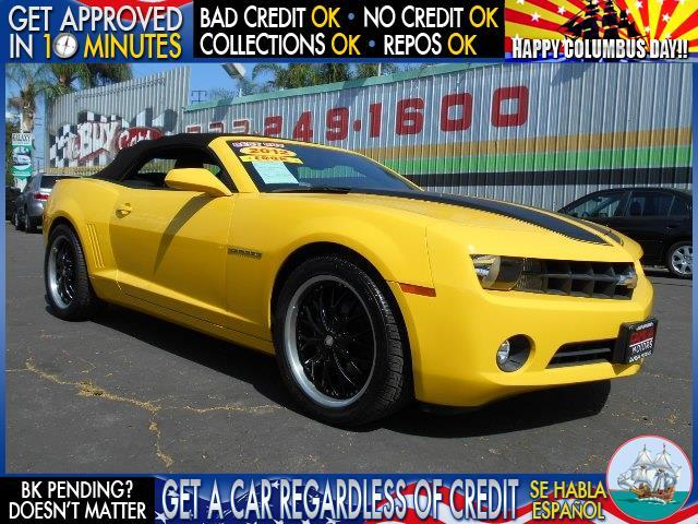 2012 CHEVROLET CAMARO LT 2DR CONVERTIBLE W1LT yellow  welcome take a test drive or call us if
