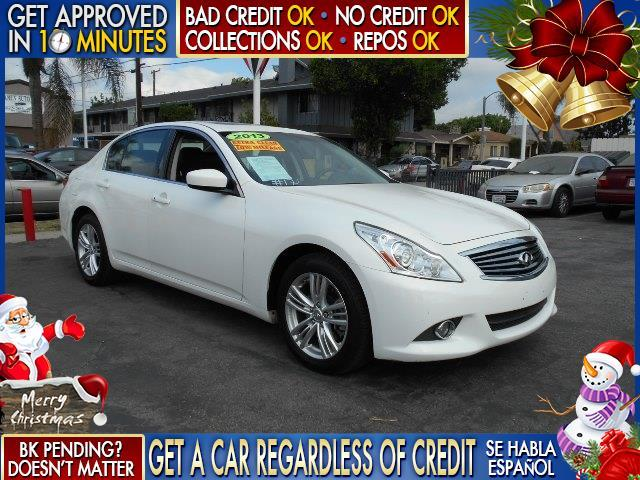 2013 INFINITI G37 SEDAN X AWD 4DR SEDAN white  welcome take a test drive or call us if you hav