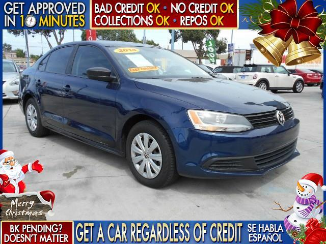 2014 VOLKSWAGEN JETTA S 4DR SEDAN 6A blue  welcome take a test drive or call us if you have an