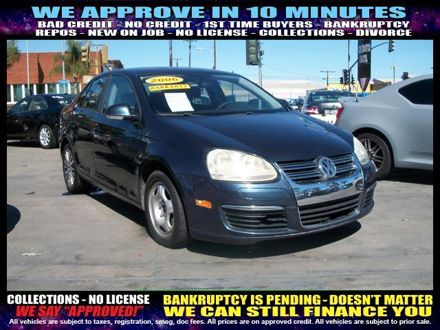 2006 VOLKSWAGEN JETTA VALUE EDITION 4DR SEDAN 25L I5 blue welcome take a test drive or call u
