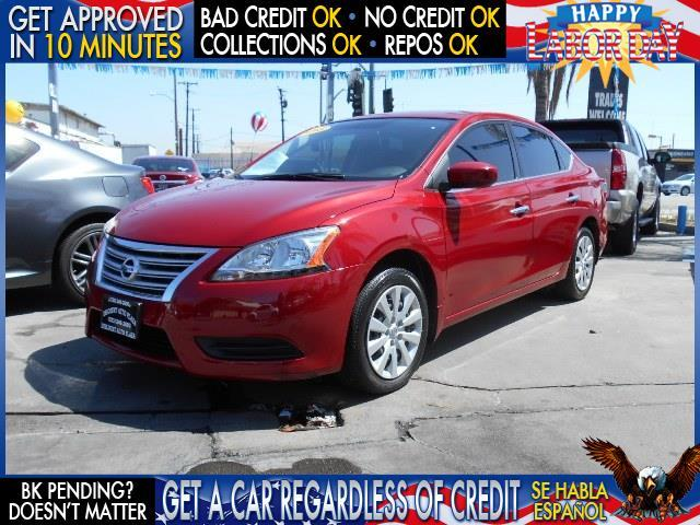 2013 NISSAN SENTRA red  welcome take a test drive or call us if you have any questions you w