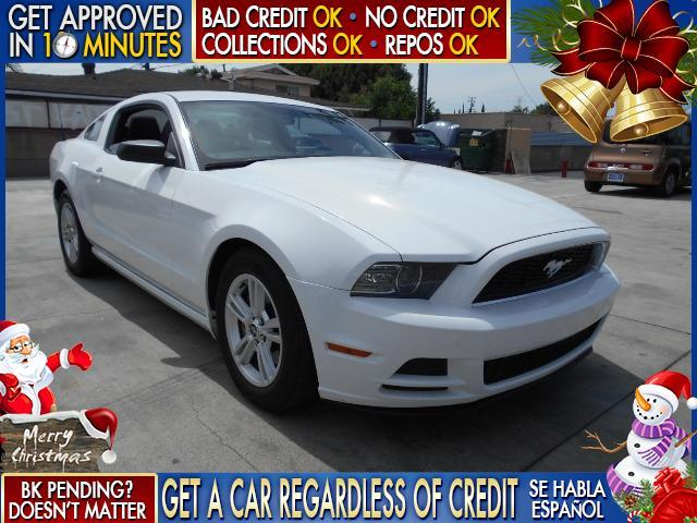 2014 FORD MUSTANG white  welcome take a test drive or call us if you have any questions you