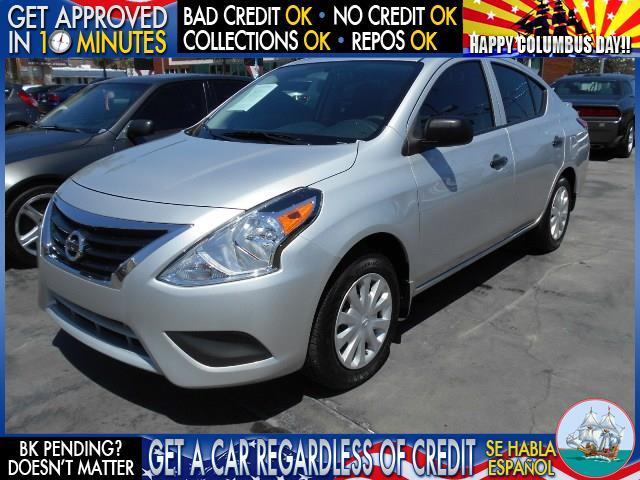 2015 NISSAN VERSA 16 S 4DR SEDAN 4A silver  welcome take a test drive or call us if you have