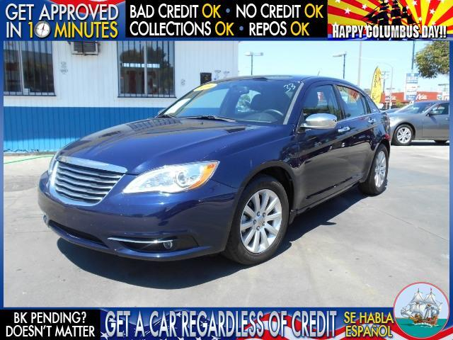 2013 CHRYSLER 200 LIMITED 4DR SEDAN blue  welcome take a test drive or call us if you have any