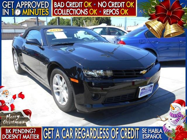 2014 CHEVROLET CAMARO LT 2DR CONVERTIBLE W1LT black  welcome take a test drive or call us if