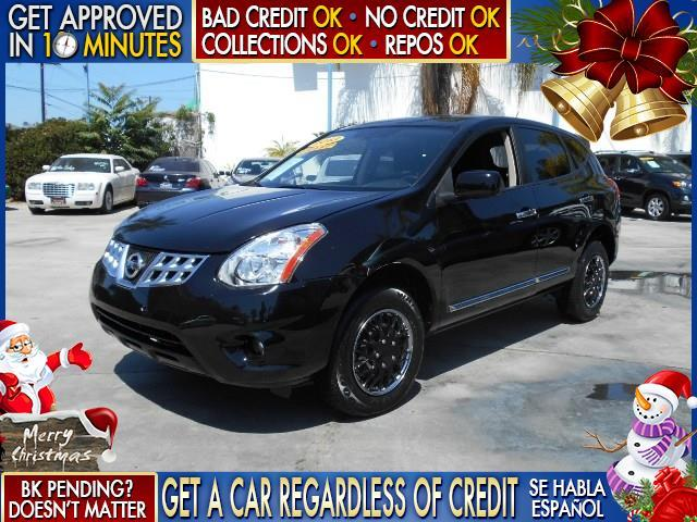 2013 NISSAN ROGUE S 4DR CROSSOVER black  welcome take a test drive or call us if you have any