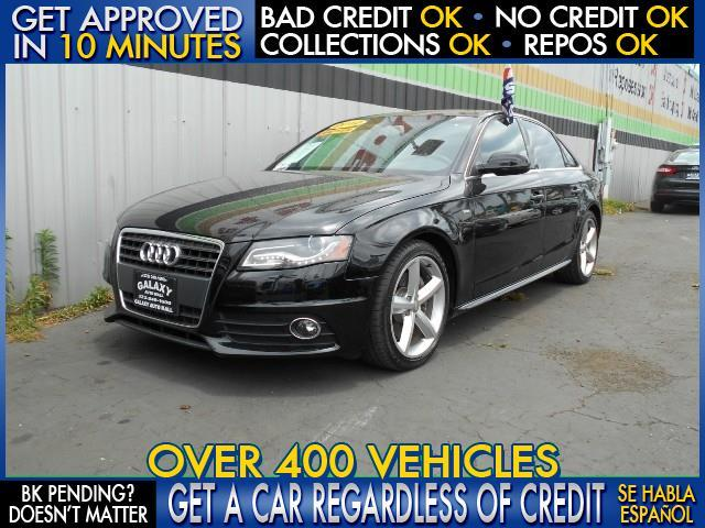 2012 AUDI A4 20T QUATTRO PREMIUM PLUS AWD 4D black  welcome take a test drive or call us if y