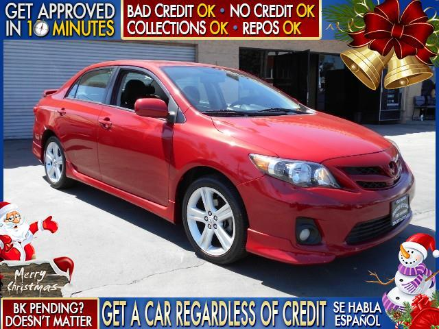 2013 TOYOTA COROLLA LE 4DR SEDAN 4A red  welcome take a test drive or call us if you have any