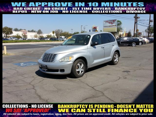 2007 CHRYSLER PT CRUISER BASE 4DR WAGON silver welcome take a test drive or call us if you have