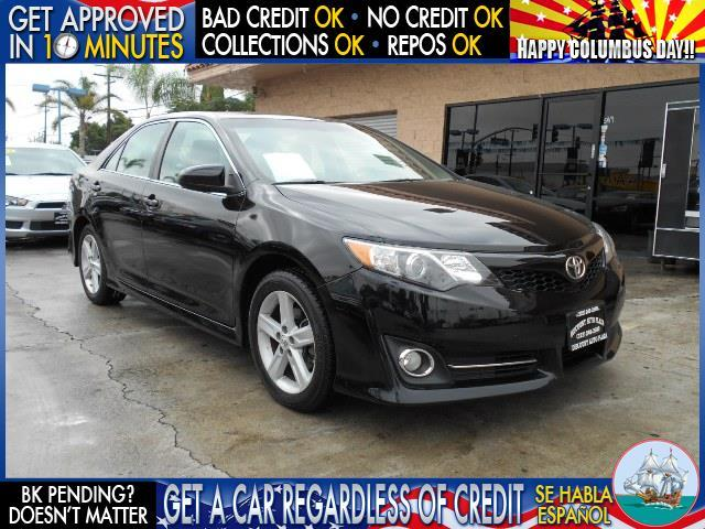 2012 TOYOTA CAMRY LE 4DR SEDAN black  welcome take a test drive or call us if you have any que