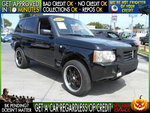 2006 LAND ROVER RANGE ROVER HSE 4DR SUV 4WD black  welcome take a test drive or call us if you
