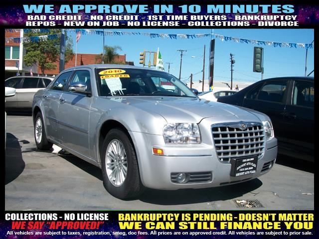 2010 CHRYSLER 300 TOURING 4DR SEDAN silver  welcome take a test drive or call us if you have a