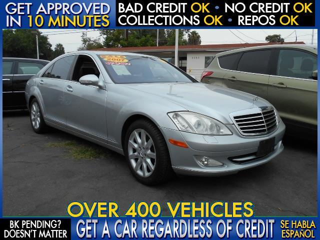 2007 MERCEDES-BENZ S-CLASS S550 4DR SEDAN silver  welcome take a test drive or call us if you