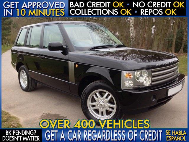 2003 LAND ROVER RANGE ROVER HSE AWD 4DR SUV black  welcome take a test drive or call us if you