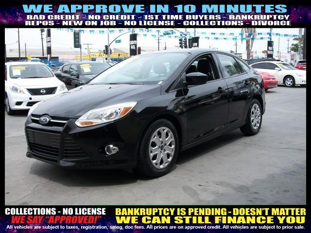 2012 FORD FOCUS SE 4DR SEDAN black welcome take a test drive or call us if you have any quest
