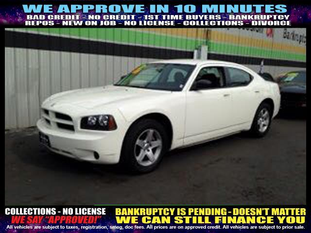 2009 DODGE CHARGER SE 4DR SEDAN white  welcome take a test drive or call us if you have any qu